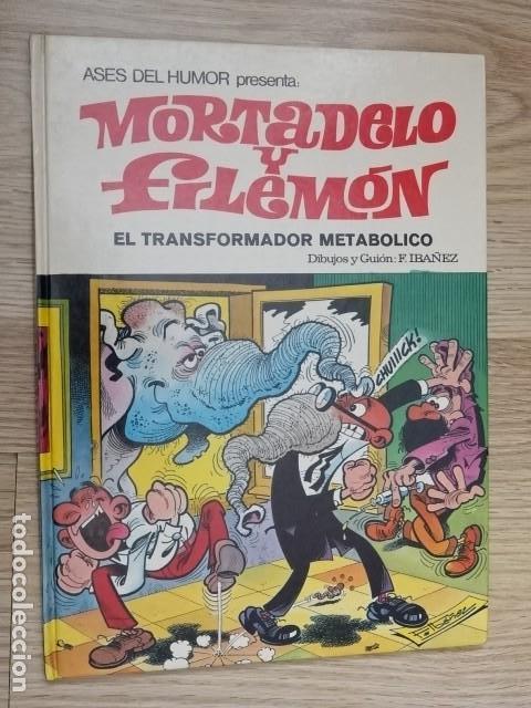 MORTADELO Y FILEMÓN - EL TRANSFORMADOR METABÓLICO - F. IBAÑEZ - ED. BRUGUERA - 1ª EDICIÓN 1979 (Tebeos y Comics - Bruguera - Mortadelo)