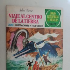 Tebeos: JOYAS LITERARIAS. Nº 21. CON LABERINTO ROJO. BRUGUERA.. Lote 151527362