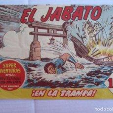 Tebeos: EL JABATO., NUMERO 156 , EN LA TRAMPA. Lote 151547646