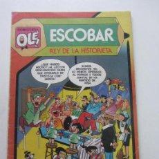 Tebeos: COLECCION OLE Nº 299 ESCOBAR REY DE LA HISTORIETA CX05. Lote 151567234