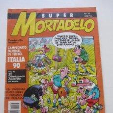 Tebeos: SUPER MORTADELO Nº 73 CAMPEONATO DE FÚTBOL ITALIA 1990 EDICIONES B E8. Lote 151567494