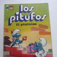 Tebeos: COLECCION OLE! - LOS PITUFOS Nº 3. - EL PITUFISIMO. PITUFOFONIA EN DO BRUGUERA VSD05. Lote 151567646