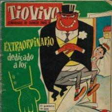 Tebeos: TIO VIVO Nº 46 EXTRAORDINARIO DEDICADO A LOS GAMBERROS - CRISOL 1958. Lote 151646626