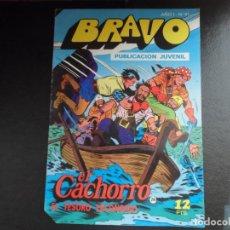 Tebeos: EL CACHORRO Nº 26 EDITORIAL BRUGUERA AÑOS 70 SERIE BRAVO 51 . Lote 151663002