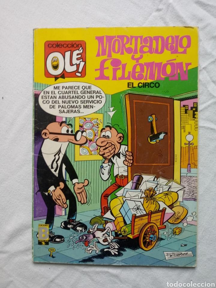 MORTADELO Y FILEMÓN EL CIRCO 105-M 61 (Tebeos y Comics - Bruguera - Mortadelo)