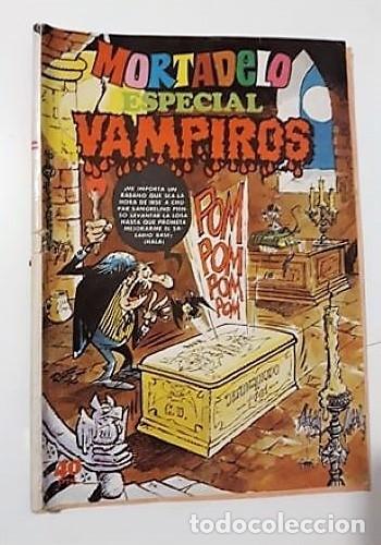 MORTADELO ESPECIAL VAMPIROS - BRUGUERA (LEER DESCRIPCIÓN) (Tebeos y Comics - Bruguera - Mortadelo)