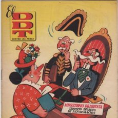 BDs: DDT Nº8. PEÑARROYA, VÁZQUEZ, CONTI, CIFRÉ, ESCOBAR. BRUGUERA 1951. Lote 151929202