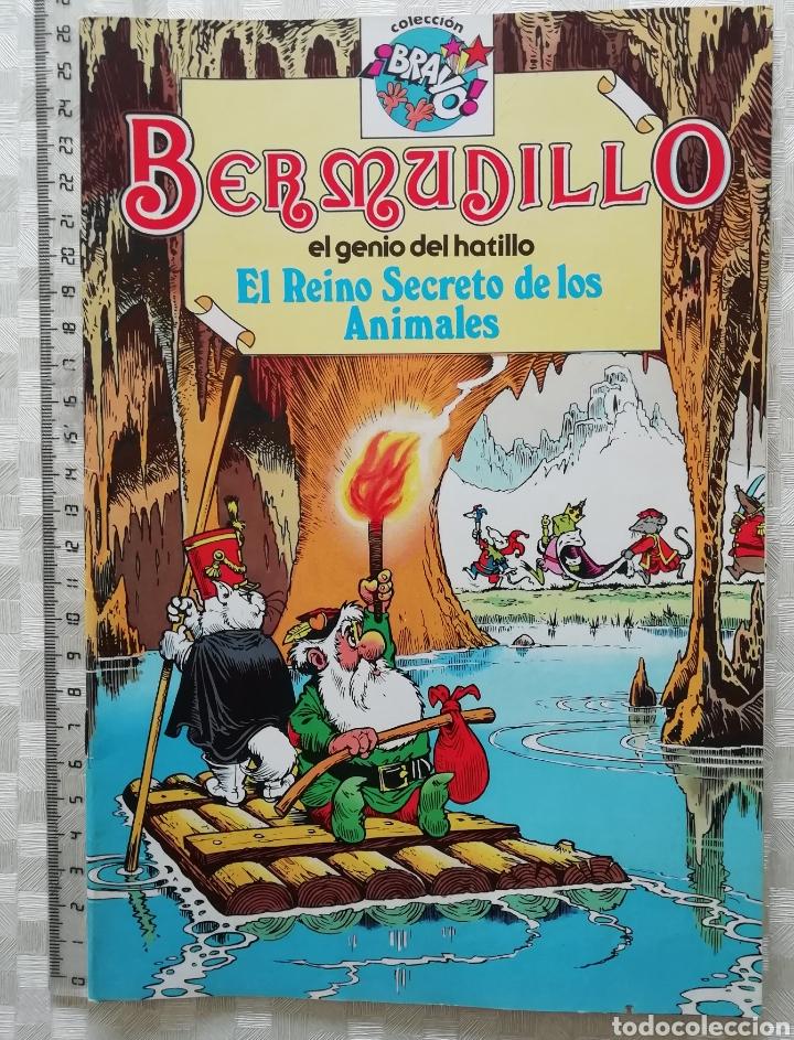 BERMUDILLO EL GENIO DEL HATILLO EL REINO SECRETO DE LOS ANIMALES COLECCIÓN BRAVO DE BRUGUERA 1982 (Tebeos y Comics - Bruguera - Bravo)