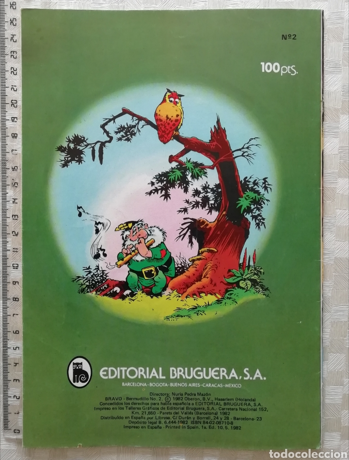 Tebeos: BERMUDILLO el Genio del Hatillo El Reino Secreto de los Animales Colección Bravo de BRUGUERA 1982 - Foto 2 - 151991081