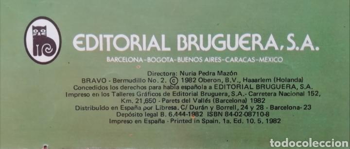 Tebeos: BERMUDILLO el Genio del Hatillo El Reino Secreto de los Animales Colección Bravo de BRUGUERA 1982 - Foto 3 - 151991081