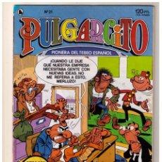Tebeos: PULGARCITO - BRUGUERA 1986 - NUMERO 21.. Lote 152287502