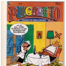 Tebeos: PULGARCITO - BRUGUERA 1986 - NUMERO 24. Lote 152287606