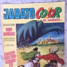 Tebeos: JABATO COLOR Nº 121 - ED. BRUGUERA 1969. Lote 152320090