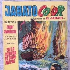 Tebeos: JABATO COLOR Nº 132 - ED BRUGUERA 1969. Lote 152320714
