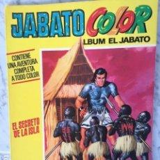 Tebeos: JABATO COLOR EXTRA 1ª EPOCA Nº 18 - ED BRUGUERA 1971 - EL SECRETO DE LA ISLA. Lote 152321398