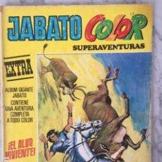 Tebeos: JABATO COLOR EXTRA 2ª EPOCA Nº 24 - ED BRUGUERA 1976 - EL ALUD VIVIENTE. Lote 152323238