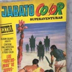 Tebeos: JABATO COLOR EXTRA 2ª ETAPA Nº 19 - ED BRUGUERA 1975 - LOS FANTASMAS DE WONG-WAH. Lote 152324018