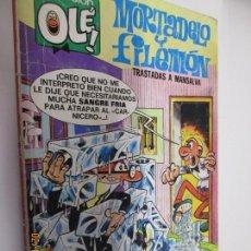 Tebeos: COLECCIÓN OLÉ Nº 140-M10 - MORTADELO Y FILEMÓN - TRASTADAS A MANSALVA - EDICIONES B 5ª ED. 1987. Lote 152364902