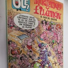 Tebeos: COLECCIÓN OLÉ Nº 128-M.80 - MORTADELO Y FILEMÓN: EL CASO DEL CALCETÍN - EDICIONES B - 1ª ED. 1988.. Lote 152365138