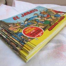 Tebeos: LOTE DE EL JABATO. Lote 152465162