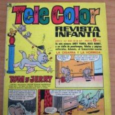 Tebeos: TELE COLOR - Nº 233 - AÑO 1967 - MUY BUEN ESTADO. Lote 152520034