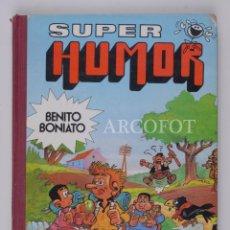 Tebeos: SUPER HUMOR Nº 2 - BENITO BONIATO - 1ª EDICIÓN ENERO 1985 - EDITORIAL BRUGUERA. Lote 152531250