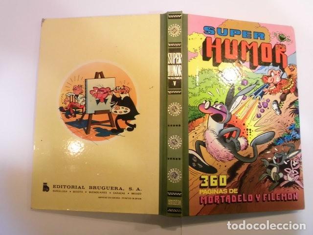 Tebeos: SUPER HUMOR VOLUMEN V - TERCERA EDICION - 1980 - Foto 2 - 152568214