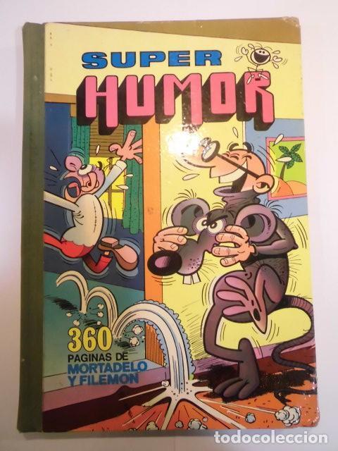 SUPER HUMOR VOLUMEN XII - PRIMERA EDICION - 1978 (Tebeos y Comics - Bruguera - Super Humor)