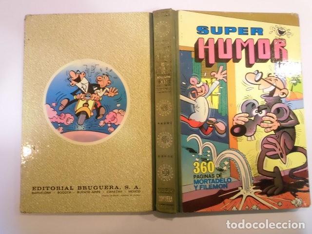Tebeos: SUPER HUMOR VOLUMEN XII - PRIMERA EDICION - 1978 - Foto 2 - 152568378