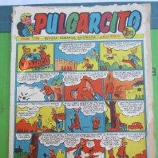 Tebeos: PULGARCITO , NUMERO 1179 , CON EL INSPECTOR DAN , BRUGUERA. Lote 152591194