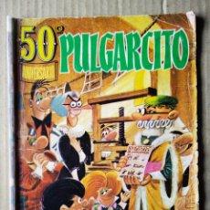 Tebeos: PULGARCITO 50 ANIVERSARIO. 100 PÁGINAS EN COLOR Y BITONO.. Lote 152666317