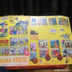 Tebeos: TELE COLOR -5 TEBEOS-TODOS DE HUCKLEBERRY HOUND-Nº 32-61-6265-81-MUY BUEN ESTADO. Lote 152677594