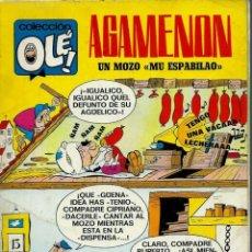Tebeos: OLE Nº 13 - AGAMENON - DE NENE ESTIVILL - BRUGUERA 1971 - COMPLETO - MUY DIFICIL. Lote 152699782