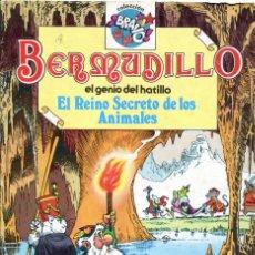Tebeos: BERMUDILLO EL GENIO DEL HATILLO NUMERO 2. EL REINO SECRETO DE LOS ANIMALES. Lote 152735918