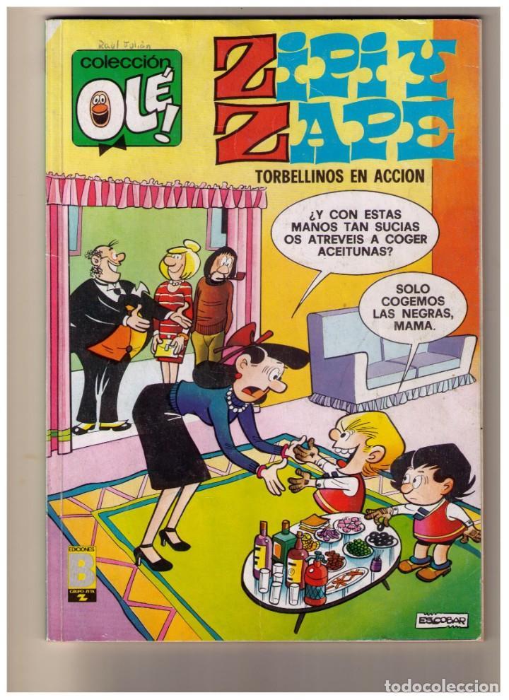 ZIPI Y ZAPE Nº 127 - COLECCION OLE (Tebeos y Comics - Bruguera - Ole)