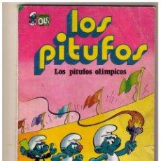 Tebeos: LOS PITUFOS - LOS PITUFOS OLIMPICOS - COLECCION OLE Nº 11. Lote 152869858