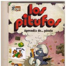 Tebeos: LOS PITUFOS - APRENDIZ DE ... PITUFO - COLECCION OLE Nº 8. Lote 152870198
