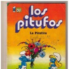 Tebeos: LOS PITUFOS - LA PITUFITA - COLECCION OLE Nº 4. Lote 152871794