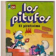 Tebeos: LOS PITUFOS - EL PITUFISIMO - COLECCION OLE Nº 3. Lote 152871930