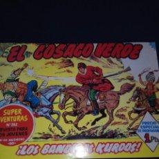 Tebeos: EL COSACO VERDE 3 TOMOS ENCUADERNADA 144 EJEMPLARES. Lote 152891806