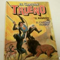 Tebeos: EL CAPITAN TRUENO, EL REGRESO DE EL CAPITAN TRUENO, BRUGUERA 1986.. Lote 152893985
