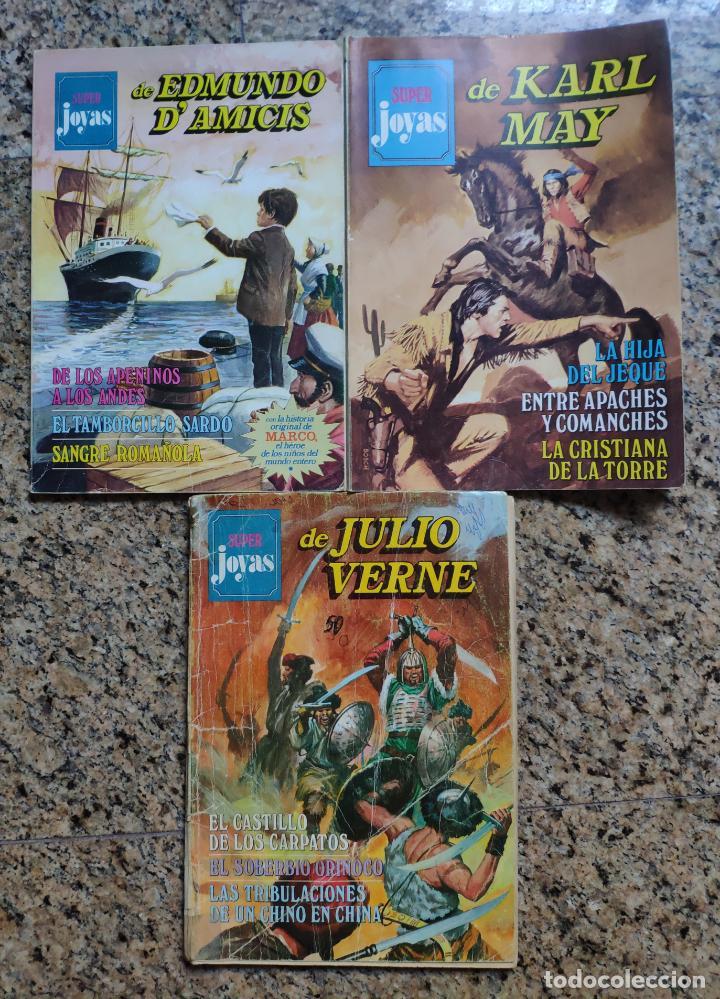 SUPER JOYAS Nº 1, 12 Y 45 - ANTONIO BERNAL (BRUGUERA 1977) (Tebeos y Comics - Bruguera - Joyas Literarias)