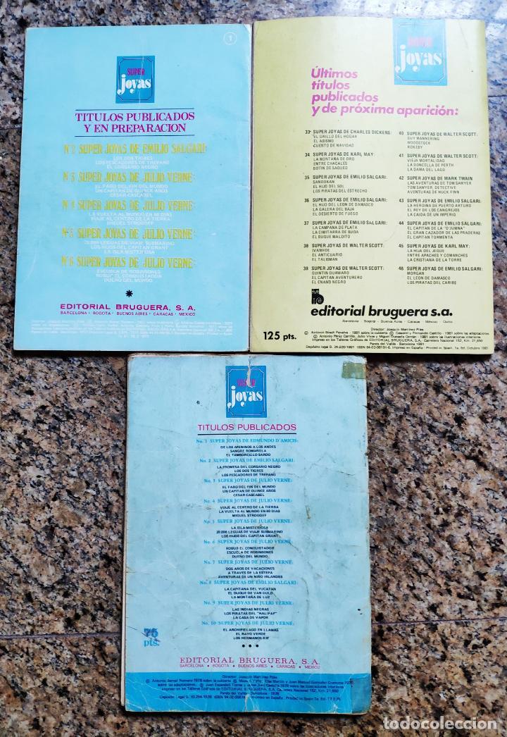Tebeos: SUPER JOYAS Nº 1, 12 Y 45 - ANTONIO BERNAL (BRUGUERA 1977) - Foto 2 - 153032794