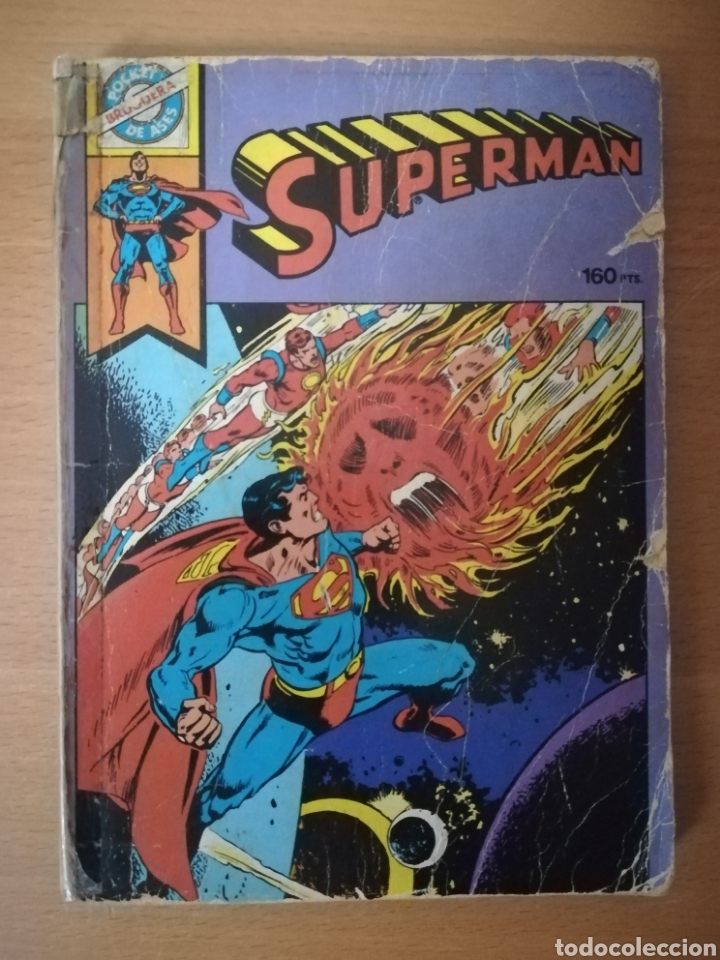 SUPERMAN POCKET DE ASES-BRUGUERA (Tebeos y Comics - Bruguera - Otros)