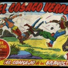 Tebeos: EL COSACO VERDE. 25 EJEMPLARES ENCUADERNADOS. Lote 153330754
