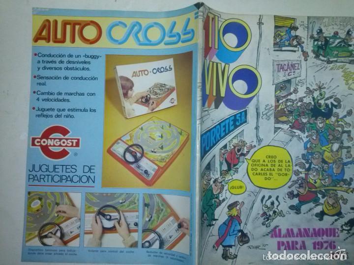 Tebeos: TÍO VIVO- ALMANAQUE PARA 1976- IBÁÑEZ- NORBERTO BUSCAGLIA-RAF-SEGURA-CASI FLAMANTE-DIFÍCIL-4543 - Foto 3 - 253562750