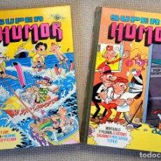 Tebeos: SUPER HUMOR VOLUMEN 49 (XLIX) + REGALO VOLUMEN 4. BRUGUERA. 1A EDICIÓN 1984. Lote 153431086