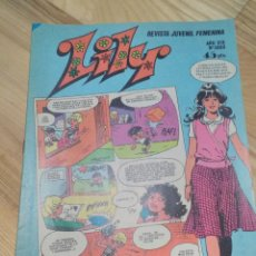 Tebeos: COMIC TEBEO BRUGUERA LILY N 1069 CON POSTER. Lote 153435266