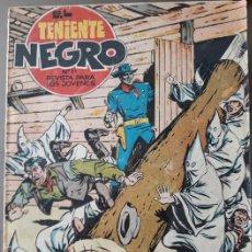 Tebeos: EL TENIENTE NEGRO Nº 21. Lote 153440762
