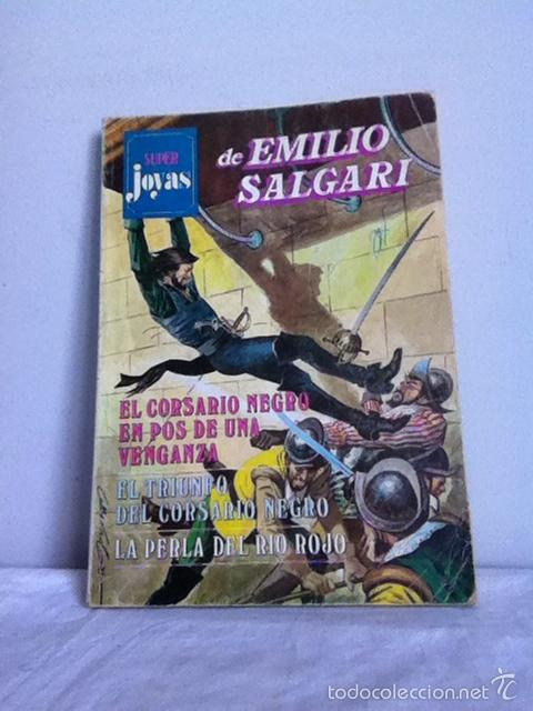 SUPER JOYAS DE EMILIO SALGARI. N 11. 1978 (Tebeos y Comics - Bruguera - Joyas Literarias)